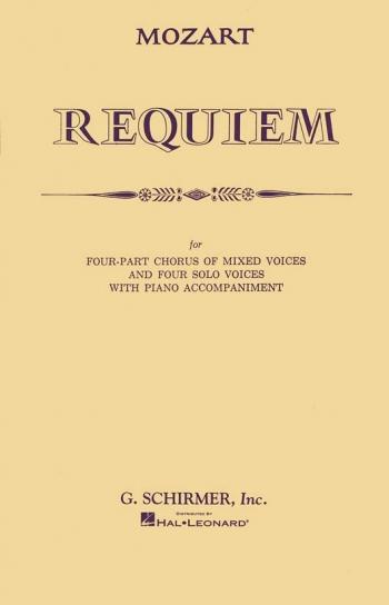 Requiem: Vocal Score (Schirmer)