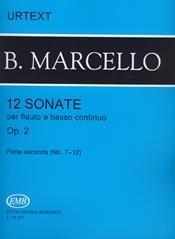 12 Sonatas Op.2 Vol.2: Treble Recorder Or Flute And Piano (EMB)