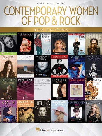 Contemporary Women Of Pop & Rock (PVG, 2nd Edition)