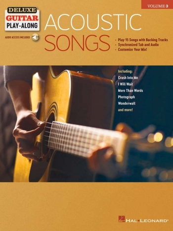 Deluxe Guitar Play-Along Volume 3: Acoustic Songs