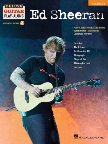 Deluxe Guitar Play-Along Volume 9: Ed Sheeran