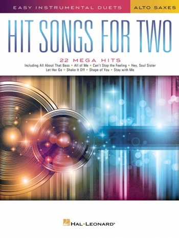 Easy Instrumental Duets: Hit Songs For Two Alto Saxophones