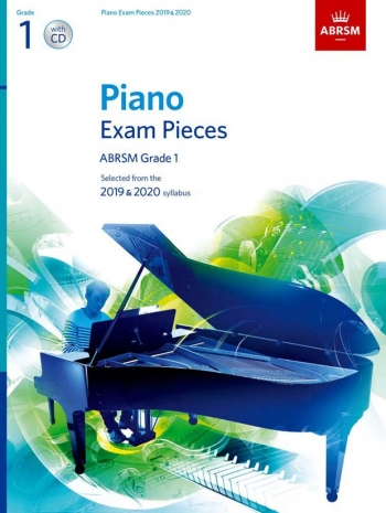 ABRSM Piano Exam Pieces Grade 1: 2019 & 2020 Book & CD