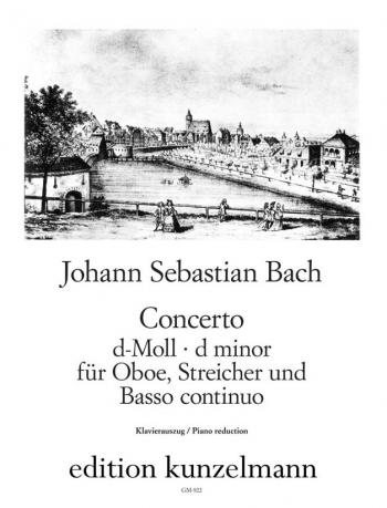 Oboe Concerto In D Minor Bwv 1059: Oboe & Piano (Kunzelmann)