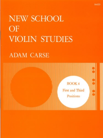 New School Of Violin Studies Book 4 (First & Third Position)