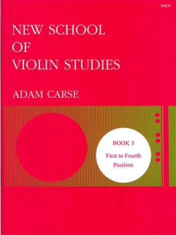 New School Of Violin Studies Book 5 (First & Fourth Position)