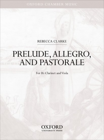 Prelude Allegro And Pastorale: Viola & Clarinet