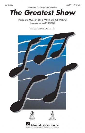 The Greatest Showman (From The Greatest Showman): Vocal SATB & Piano