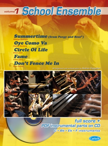 School Ensemble, Volume 1: Sheet Music & CD