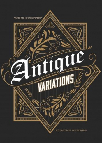 Antique Variations For Wind Quintet: Score And Parts (Stubbs)