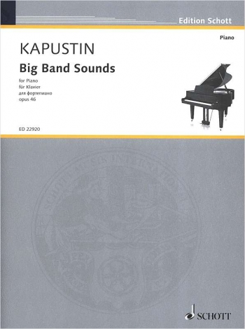 Big Band Sounds Op.46: Piano (Schott)
