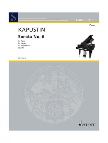 Sonata No.6 Op.62: Piano (Schott)
