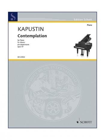 Contemplation Op.47: Piano (Schott)