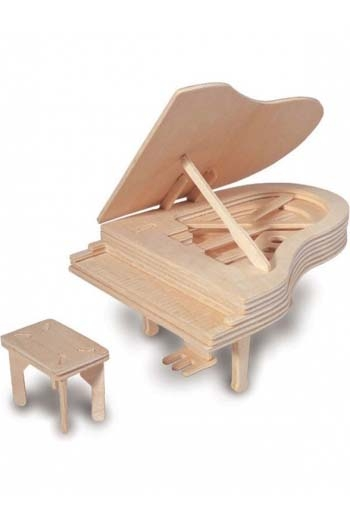 Woodcraft Construction Kit: Piano