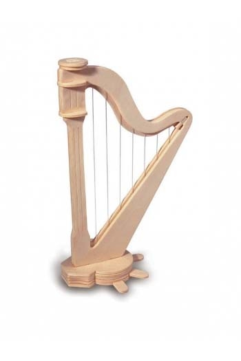 Woodcraft Construction Kit: Harp