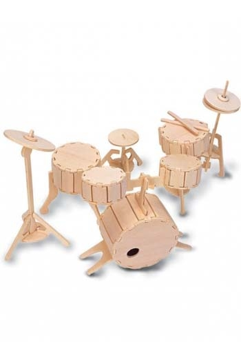 Woodcraft Construction Kit: Drums