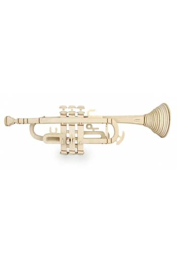 Woodcraft Construction Kit: Trumpet