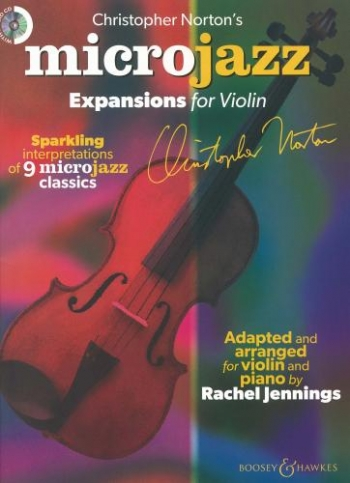 Microjazz Expansions For Violin (C Norton Arr Rachel Jennings.)