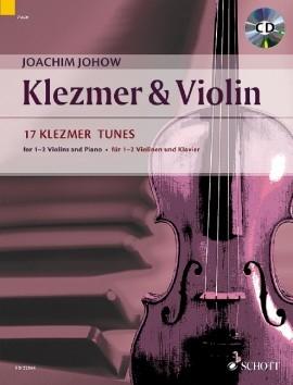 Klezmer & Violin: 17 Klezmer Tunes: 1-2 Violins Book & CD