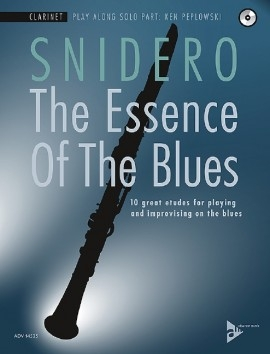 The Essence Of The Blues: Clarinet Book & Cd (Snidero)