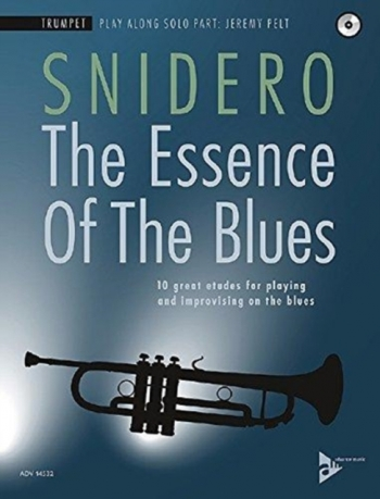 The Essence Of The Blues: Trumpet Book & CD (Snidero)