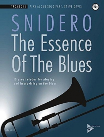 The Essence Of The Blues: Trombone Book & Cd (Snidero)