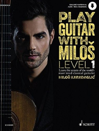Play Guitar With Milos Level 1: Classical Guitar Book & Audio Download