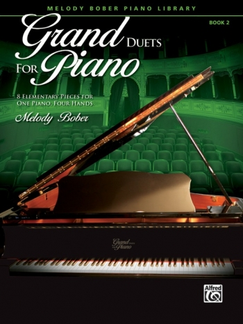 Grand Duets For Piano Book 2: Pieces For One Piano Four Hands: (bober)