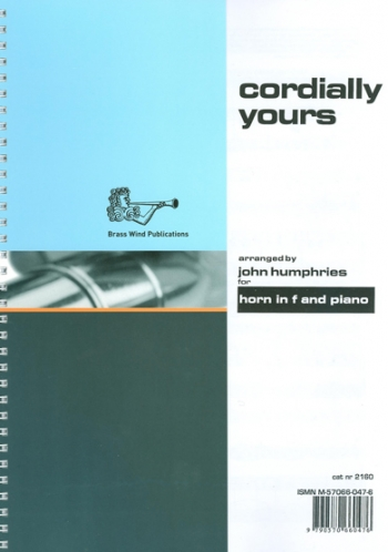 Cordially Yours: French Horn & Piano