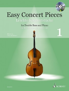 Easy Concert Pieces 1: Double Bass & Piano (Schott)