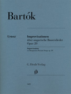 Improvisations On Hungarian Peasant Songs: Op20: Piano  (Henle)