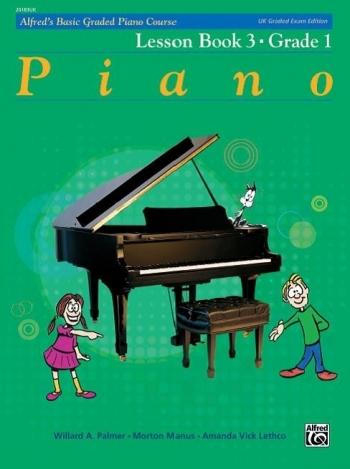 Alfred Graded Course Lesson Book 3 - Grade 1