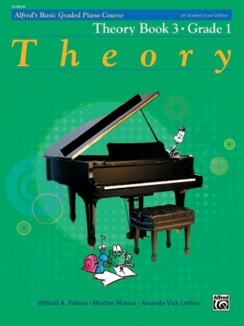 Alfred Graded Course Theory Book 3 - Grade 1
