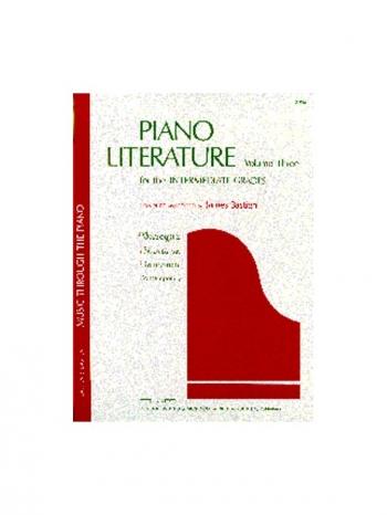 Bastien Piano Literature Volume 3