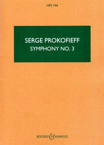 Symphony No.3 Study Score (B&H)
