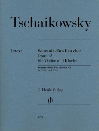 Souvenir D'un Lieu Cher: Violin & Piano (Henle)