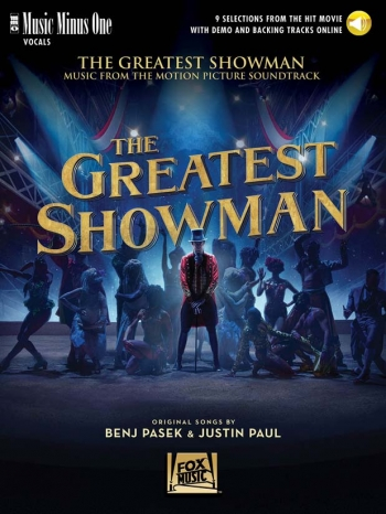 The Greatest Showman (Book/Online Audio) Music Minus One