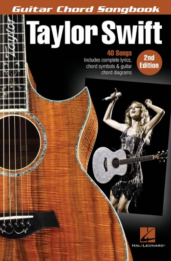 Taylor Swift: Guitar Chord Songbook – 2nd Edition