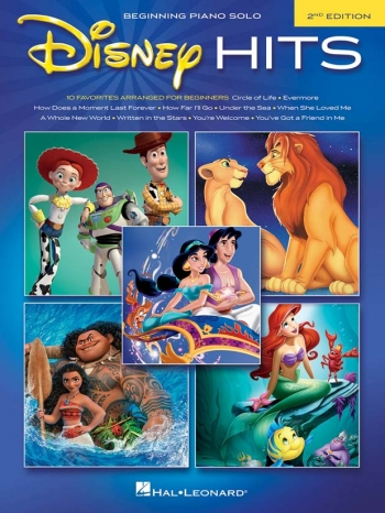 Disney Hits: Beginning Piano Solo:  2nd Edition