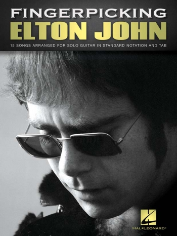 Fingerpicking Elton John For Solo Guitar; Standard Notation & Tab