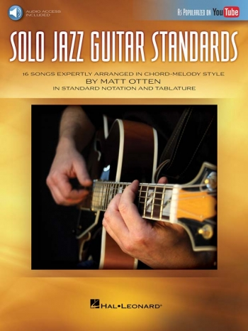 Solo Jazz Guitar Standards Book & Audio Access (Matt Otten)