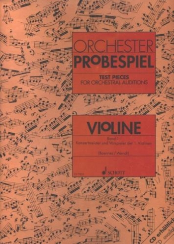 Test Pieces For Orchestral Auditions Violin (Orchester Probespiel)