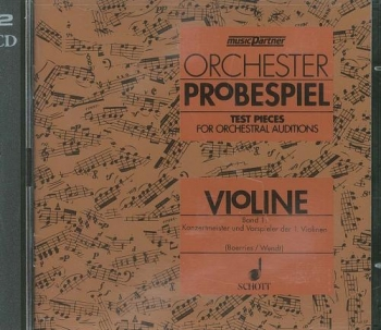 Test Pieces For Orchestral Auditions Cello (Orchestra Probespiel)  Cd Only