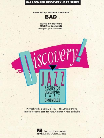 Discovery Jazz: Bad: Score & Parts (Michael Jackson)