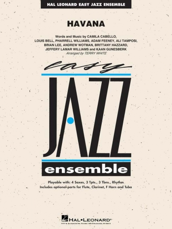 Easy Jazz Ensemble: Havana: Ensemble Score & Parts
