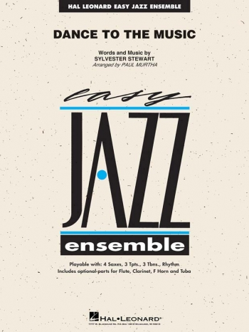 Easy Jazz Ensemble: Dance To The Music: Ensemble Score & Parts