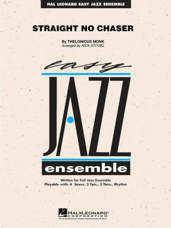 Discovery Jazz: Straight No Chaser: Big Band Score & Parts (arr John Berry)