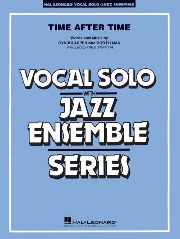 Vocal Jazz Ensemble: Time After Time (Key: C) Score & Parts (Cyndi Lauper)