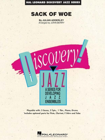 Discovery Jazz: Sack Of Woe: Big Band Score & Parts ( Cannonball Adderley)