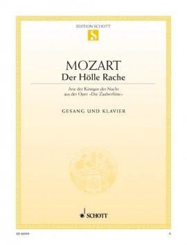 Der Hölle Rache From The Magic Flute: Soprano & Piano